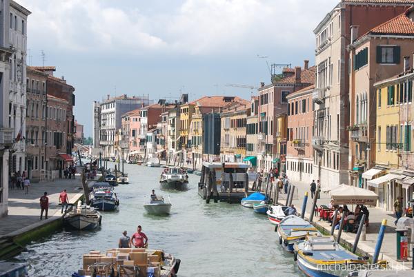 Zatłoczona Wenecja