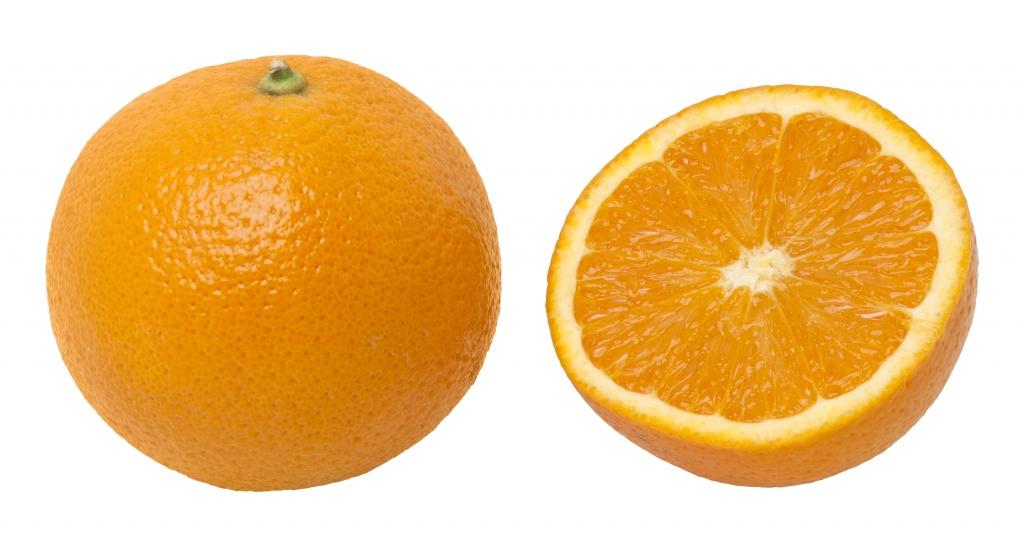 Wizualizacja pomarańczy