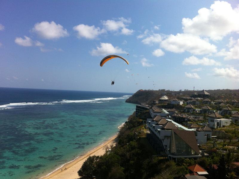 Uczucie wolności podczas Paraglidingu