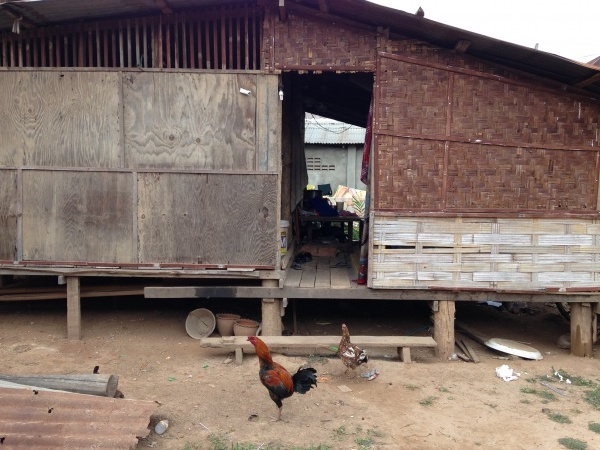 Laos wieś